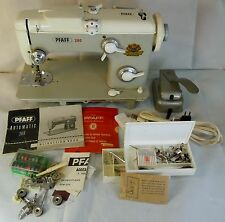 VINTAGE PFAFF 260 SEWING MACHINE/ACCESSORIES FOR PARTS/REPAIR