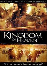 NEW DVD - KINGDOM OF  HEAVEN - Orlando Bloom, Eva Green, Jeremy Irons, Liam Nees