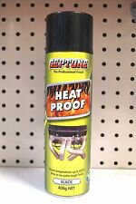 Septone Heat Proof Paint Black 400g for Engine exhaust Boilers Barbeques Heaters