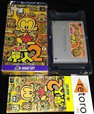 SUPER GENJIN 2 BONK'S ADVENTURE PC KID Super Famicom Nintendo SNES SFC JAP Bonk