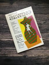 Vintage Instant Sewing Book 1969 1960's Housewife Home Economics Fashion