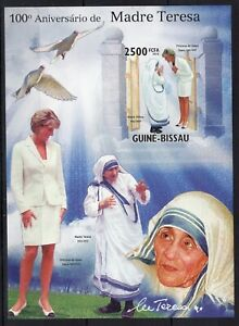 Imperf. - Guinea Bissau - Princess Diana - Marie Teresa / Briefmarken  MNH** AE1