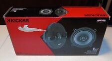 Kicker 44KSC504 Car Audio KS Series 2-Way Coaxial 5 1/4 Speakers 150W Peak KSC50