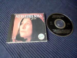 CD Mercedes Sosa Gracias A La Vida Best Of Greatest Hits La Negra Argentina 1987