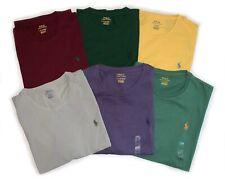 Polo Ralph Lauren Crew Neck T-Shirts (Sizes S/M/L/XL/XXL) Various Colors