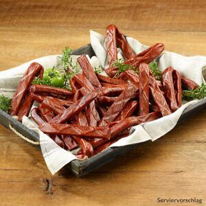 40 Landjäger Salami 1,6kg Wurst Beißer Rohesser Schwarzwald Salami Knacker
