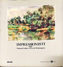 IMPRESSIONISTI DELLA NATIONAL GALLERY OF ART DI WASHINGTON - OLIVETTI, 1989