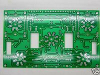 1pc  Single-ended tube amplifier bare diy PCB for EL34 KT88 6L6GC FU7 FU50 6550