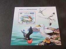 Maldives 2013 Birds of Indian Ocean Pelican MS MNH UM unmounted mint