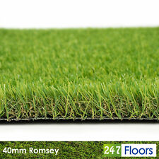 More details for artificial grass £8.90/m² 40mm quality garden fake lawn astro turf 2m 4m grass