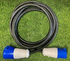 230v 240v 3 Pin Welding Extension Lead Rubber Cable 32 amp 3 x 6mm H07 10m PAT