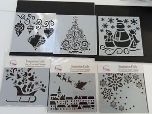 Christmas Stencils For Papercrafting