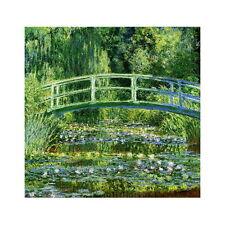 Claude Monet, Water Lilies & Japanese Bridge Deco FRIDGE MAGNET, 1899 Repro