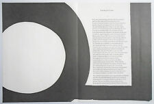 AL HELD lithographs 1967 IN MEMORY OF MY FEELINGS Frank O'Hara MOMA