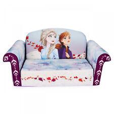 Children's Flip Open Foam Sofa Frozen 2 Girls Toddler Kids Bedroom Furniture