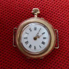 EARLY GILDED (8 K) Women´s WRISTSWATCH (Formerly Pocket Watch), ca. 1910