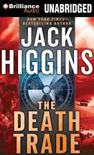 THE DEATH TRADE unabridged audio book on CD by JACK HIGGINS - Brand New! 8 Hours