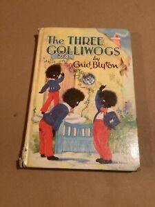 The Three Golliwogs - Enid Blyton - 1969 - Hardback - Dean & Son