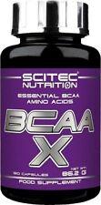 Bcaa´s X 120 cap sciatic nutrition aminoácidos ramificados constructor muscular