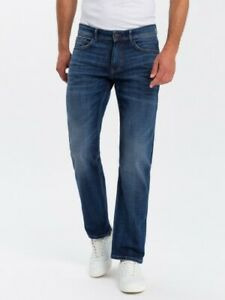 "CROSS DENIM MODELL"" Antonio "" Herren Straight Relaxed fit Farbe:132 Dark MidBlue"