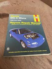 Haynes 61016 Repair Manual Mazda MX-5 Miata 1990-1997 All Models Pre-Owned Book
