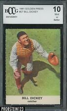 1961 Golden Press #27 Bill Dickey Yankees BCCG 10
