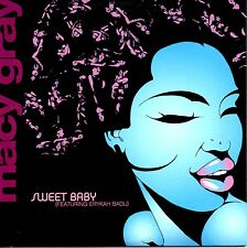 MACY GRAY [FEAT.ERYKAH BADU] - SWEET BABY - RARE PROMO CD SINGLE - CARD COVER