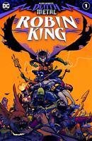 DARK NIGHTS DEATH METAL ROBIN KING #1 NM BATMAN WHO LAUGHS DC COMICS PRE-SALE