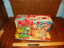"""1950's MARX """"UNDER N' OVER"""" Pin Ball Game w Original Box"""
