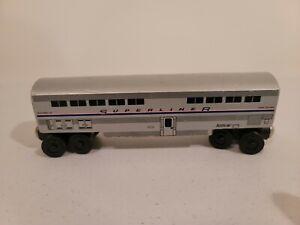 Whittle Shortline Railroad Amtrak Superliner Passenger Coach Dining Train Car wk