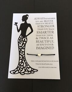 Divorce-Break-Up-Positivity-Confidence-Uplifting-Bracelet Gift💕