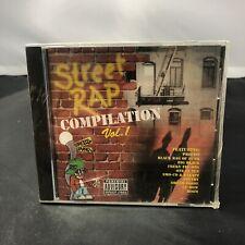 Street Rap Compilation Vol 1 MUSIC AUDIO CD Precise GFunk 1995 R&B NEW SEALED A1