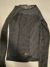 Blueish Grey DRY FIT NIKE long Sleeve Activewear Top size Small