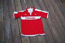 Canada Boys Large Hockey Polo Shirt