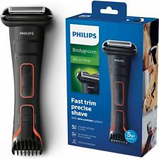 Philips Serie 7000 BODYGROOM Impermeable Afeitadora + Integrado Cortapelos