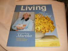 Martha Stewart Living April 2005 Chicken Collectibles Tomatoes magazine recipes