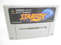 STAR FOX Super Famicom Nintendo SNES Free Shipping Hit-Japan sfc
