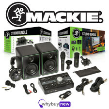 More details for mackie studio bundle home package with big knob audio interface & software
