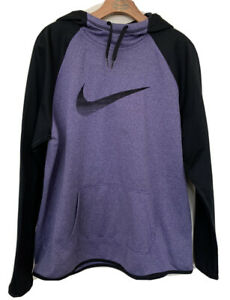 Nike Therma Fit Purple Pull Over Hoodie Youth Size XL