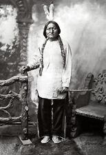 Sitting Bull Poster, Native American Indian, Holy Man, Tribal Chief, Lakota