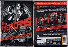 THE AMERICANS - Saison 1 - Coffret 1 Boitier Classique Large 4 DVD - NEUF