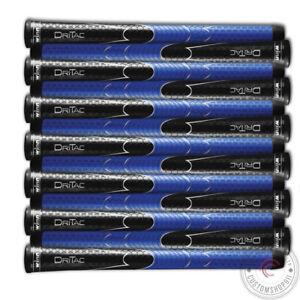 Set OF 13 WINN DRITAC AVS Midsize Black/Blue Golf Grip PU Soft