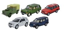 OXFORD 76SET49 - 1/76 5 PIECE LAND ROVER CLASSIC SET