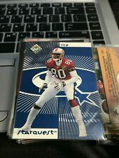 JERRY RICE/RANDY MOSS 1998 UD Choice Starquest/Rookquest Blue #SR7 49ers! kxv2