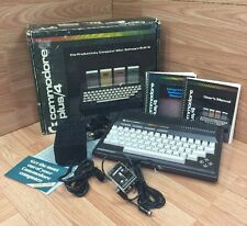COMMODORE PLUS/4 Vintage Computer - in box with manuals and power unit Untested