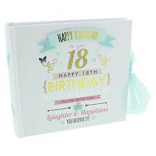 Signography Ladies 18th Birthday Photo Album - Girls 18th Birthday Gift