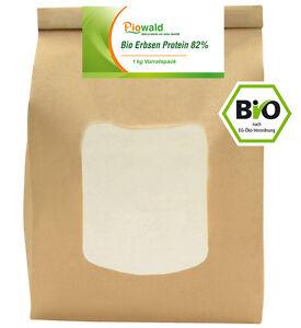 BIO Erbsenprotein - Isolat - 1 kg Pulver (19,95€/kg)