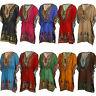 Dashiki Dress Kaftan African Tribal Poncho Mexican Hippie Thai Festival Shirt