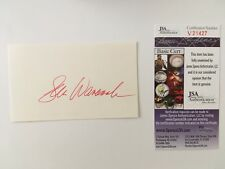 Sam Wanamaker Signed Autographed 3x5 Card JSA Certified Superman IV Raw Deal