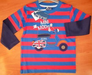 boys size 1.5 - 2 Years long sleeve top tee shirt shirt MINOTI NEW
